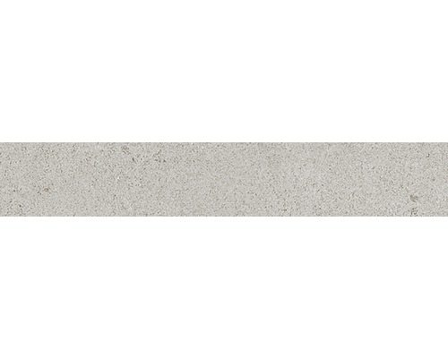 Sockel Structure Perla matt grau 10x60 cm