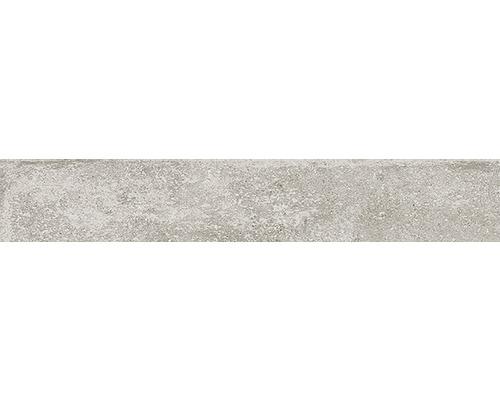 Sockel Greenwich Greige matt grau 10x60 cm