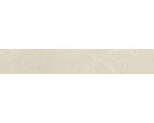 Sockel Living cream poliert beige 10x60 cm