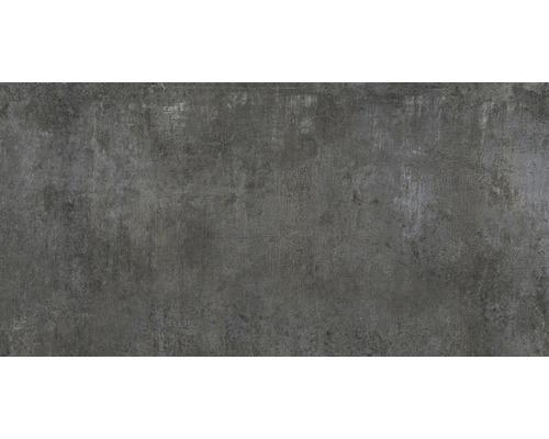 Feinsteinzeug Wand- und Bodenfliese Industrial night anpoliert 80 x 160 cm