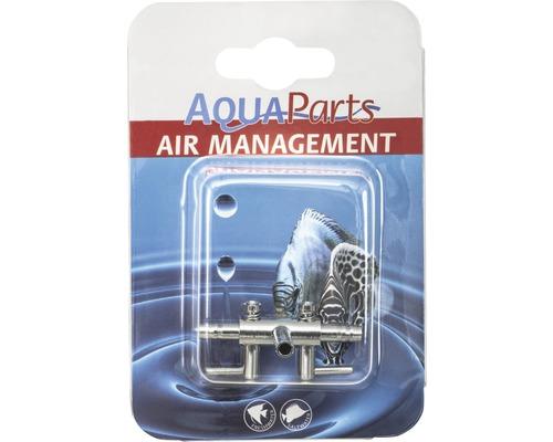 Luftverteiler 2 Wege AquaParts metall