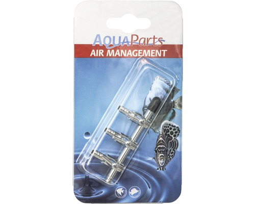 Lufthahn AquaParts 3 Wege erweiterbar Metall