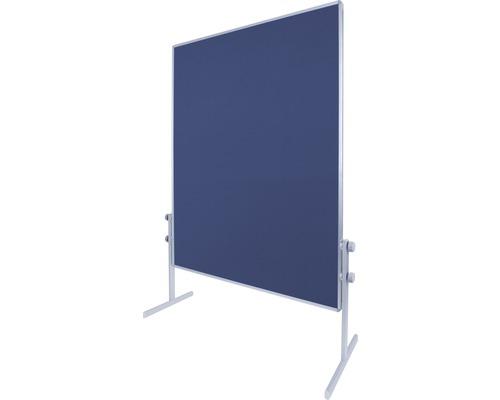 Moderationswand blau 120x150 cm