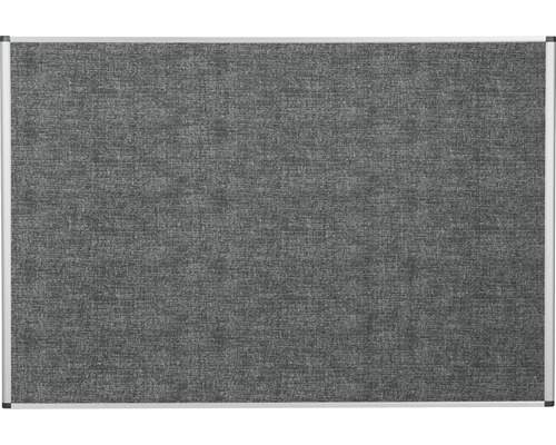 Pinnwand grau 90x60 cm