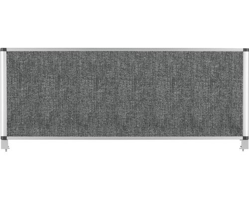 Tischteiler grau 90x35 cm