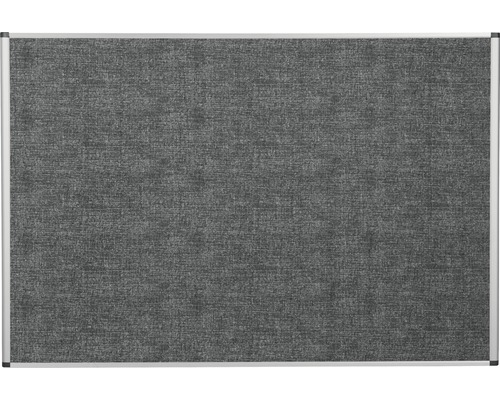 Pinnwand grau 120x90 cm