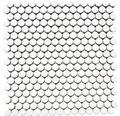 Keramikmosaik Knopf 100 30,5x32 cm weiß glänzend