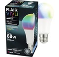 FLAIR Viyu Smarte LED Lampe mit Repeaterfunktion A60 RGB E27/9,5W(60W) 806 lm 1800-6500 K warmweiß-tageslichtweiß - Kompatibel mit SMART HOME by hornbach