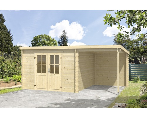 Gartenhaus Tampa 481 X 292 Cm Natur Bei Hornbach Kaufen