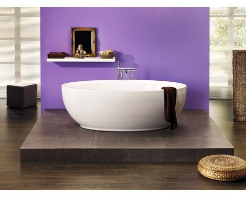 Freistehende Badewanne Estena 180x95,5 cm weiß inkl. Ab- und Überlaufgarnitur