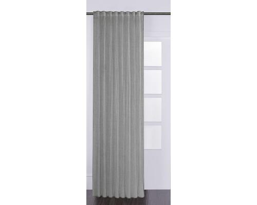 Vorhang mit Universalband Knitter grau 125x280 cm