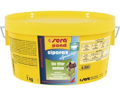 Filtermedium sera Siporax pond Algenstop 1 kg
