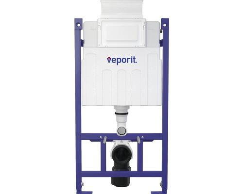 veporit. Vorwandelement ICUBOX für Wand-WC VP118/850 H:858 mm Betätigung von vorne und von oben inkl. Einwurfschacht