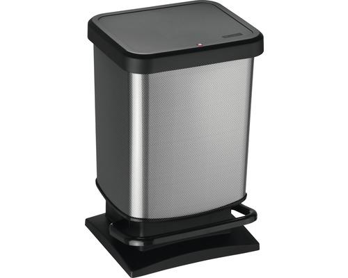 Treteimer PASO 20 Liter carbon