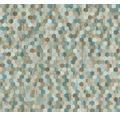 Vliestapete 37463-2 Asian Fusion Mosaik blau