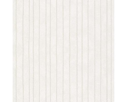 Vliestapete 84850 Memento Streifen weiß