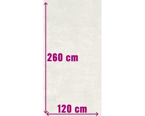 XXL Wand- und Bodenfliese Industrial white anpoliert 120 x 260 cm
