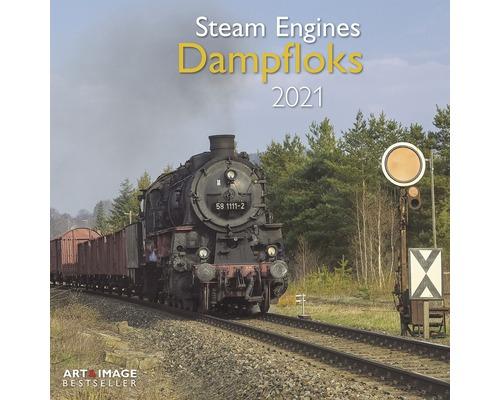 """Kalender /""""Steam Engines Dampfloks 2021/"""""""