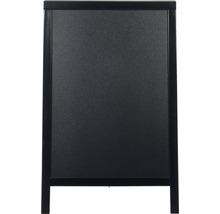 Gehwegtafel schwarz 85 cm hoch