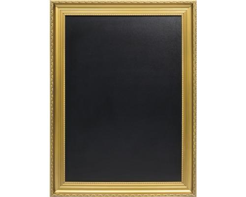 Kreidetafel mit Goldrahmen 83,5x63 cm