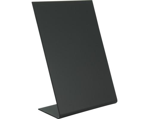 L-Tischkreidetafel Vertikal DIN A6