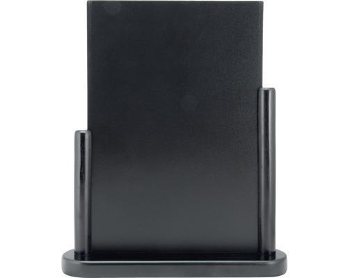 Tischkreidetafel Elegant Large schwarz