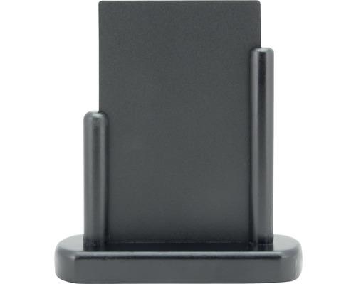 Tischkreidetafel Elegant Schmall schwarz