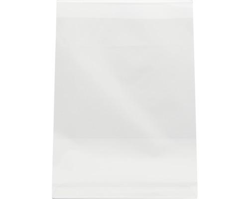 Aufsteller L-Tisch transparent DIN A4