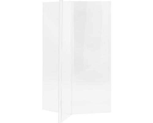 Aufsteller Y-Tisch transparent DIN A5