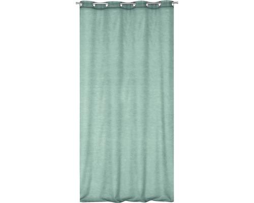 Ösenschal Uni grün 140x245 cm