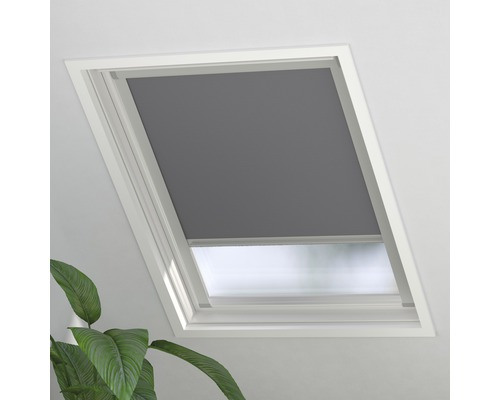 Soluna Verdunkelungsrollo Skylight 2.0 FK06, grau, 49x99 cm