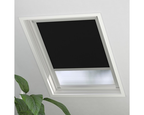 Soluna Verdunkelungsrollo Skylight 2.0 FK06, schwarz, 49x99 cm
