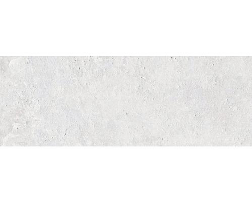 Steingut Wandfliese Downtown Steel 25 x 70 cm