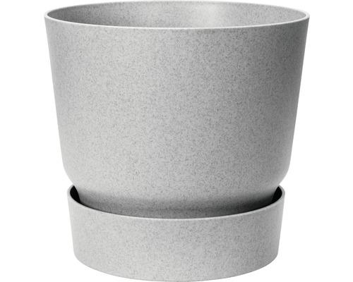 Blumentopf elho greenville rund Ø 39 cm H 36,8 cm Kunststoff grau