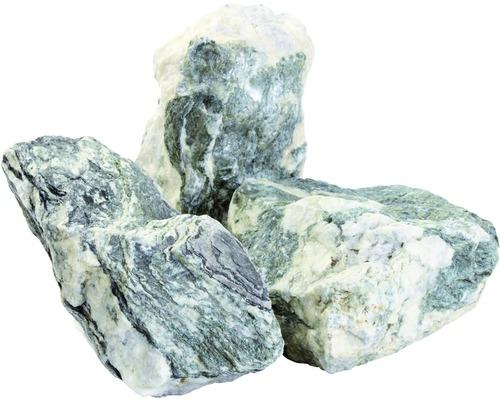 Marmorsplitt Zandobbio Matrix Verde 200-400 mm 600 kg