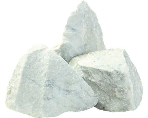 Marmorsplitt Bianco Carrara 200-400 mm 600 kg