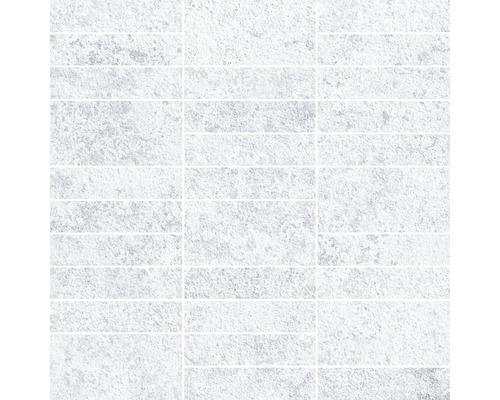 Feinsteinzeug Mosaik Downtown Steel 30 x 30 cm