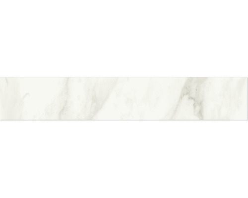 Sockel Eterna white poliert und rektifiziert 10 x 60 cm