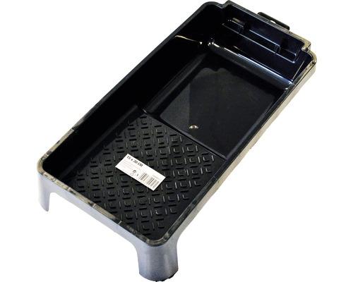 Farbwanne Kunststoff schwarz 16,5 x 5,5 cm