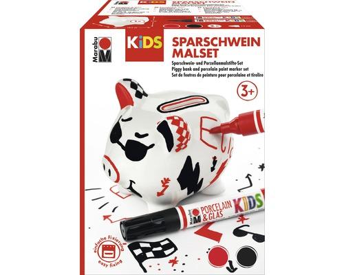 Marabu KiDS Sparschwein-Malset