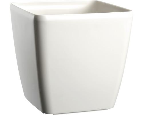 Blumentopf Lafiora Quadrato Kunststoff 24 x 24 x 23,6 cm weiß