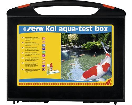Wassertest sera Koi Aqua Test Box