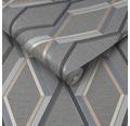Vliestapete 108611 Prestige Geometrisch Holzkohle