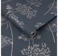 Vliestapete 108620 Prestige Wilde Blume blau