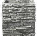 Übertopf Soendgen Latina Ton 29 x 29 x 29 cm steingrau
