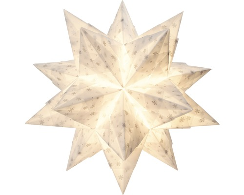 Bascetta-Stern Set weiß/silber 32 Blatt