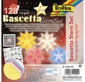 Bascetta-Stern Set Pastell 32 Blatt