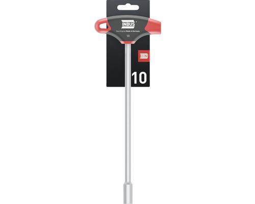 T-Griff Außensechskantschlüssel INBUS 71925 10mm mit HybridTouch