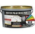 Wandfarbe Meister Polarweiß Plus im Wunschfarbton 10 l