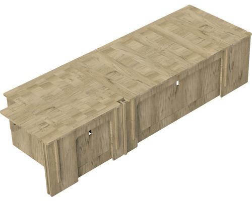 Buildify Campingbox Christoph VW Bettsystem längs asymetrisch für VW T5/T6 1800x1180x435 mm (LxBxH)